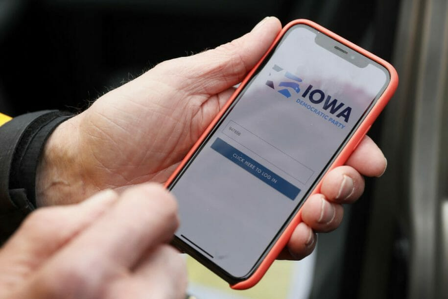 Image of Iowa Democratic App