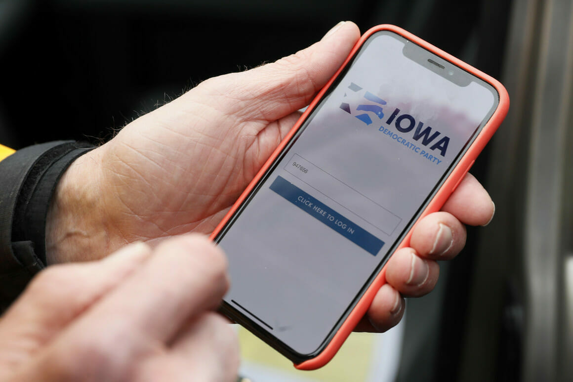 Image of Iowa Democratic App