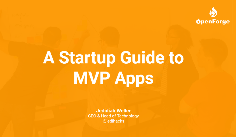 Cover photo for Startup Guide to MVP Apps